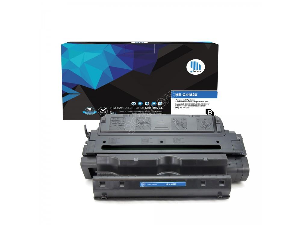 Gotoners™ HP Compatible C4182X (82X) Black Remanufactured Toner , Standard Yield