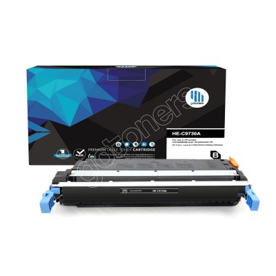 Gotoners™ HP Compatible C9730A (645A) Black Remanufactured Toner , Standard Yield