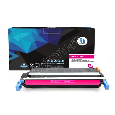 Gotoners™ HP Compatible C9733A (645A) Magenta Remanufactured Toner , Standard Yield