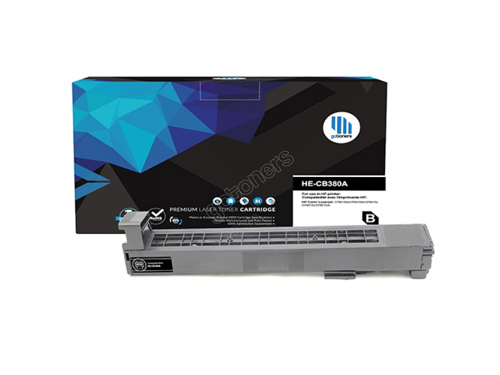 Gotoners™ HP Compatible CB380A (823A) Black Remanufactured Toner Kit, Standard Yield