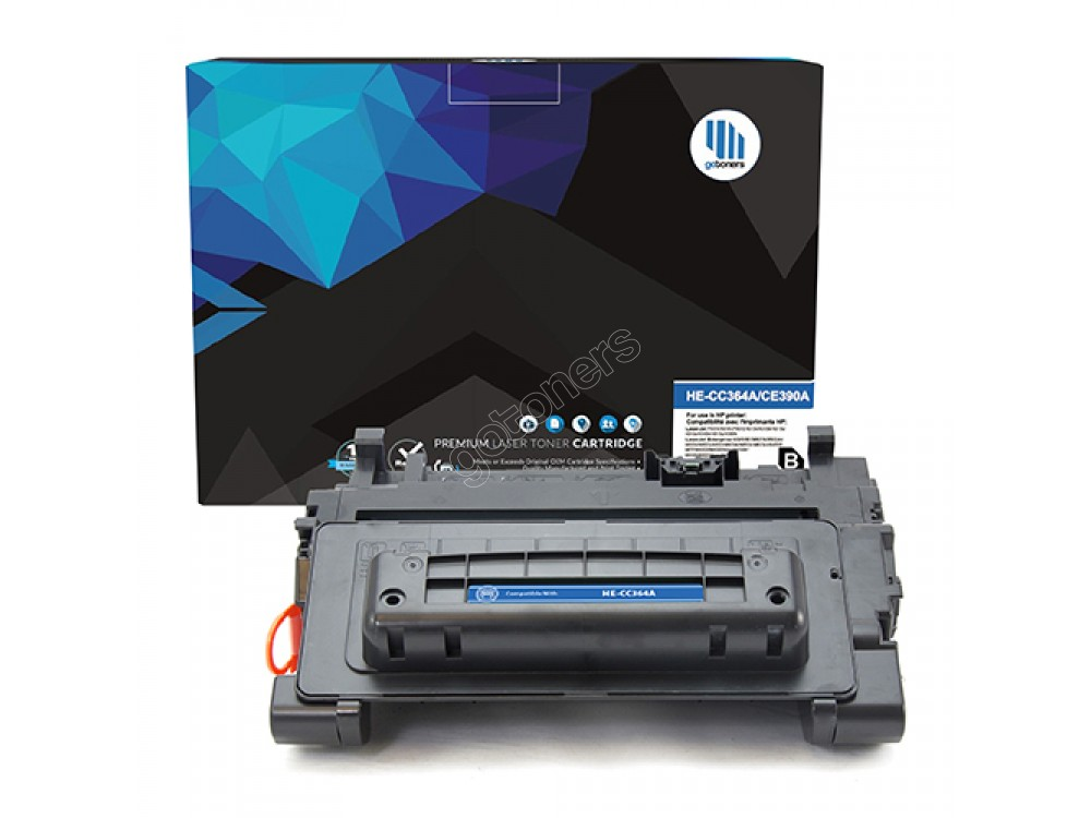 Gotoners™ HP New Compatible CC364A (64A) Black Toner, Standard Yield