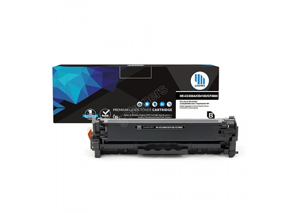 Gotoners™ HP New Compatible CC530A (304A) Black Toner, Standard Yield