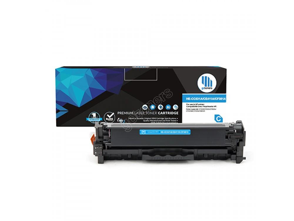 Gotoners™ HP New Compatible CC531A (304A) Cyan Toner, Standard Yield