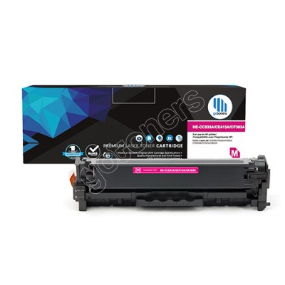 Gotoners™ HP New Compatible CC533A (304A) Magenta Toner, Standard Yield