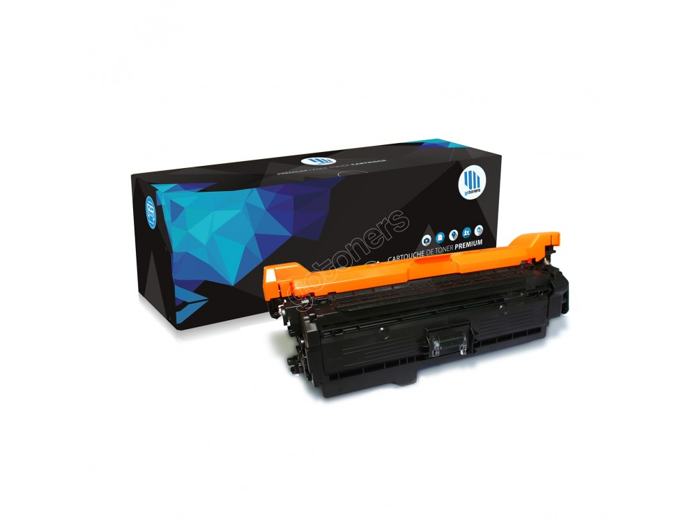 Gotoners™ HP New Compatible CE252A (504A) Yellow Toner, Standard Yield
