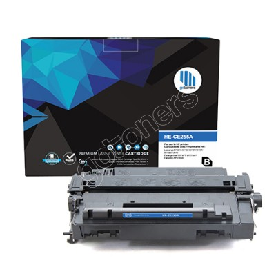 Gotoners™ HP New Compatible CE255A (55A) Black Toner, Standard Yield