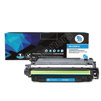 Gotoners™ HP Compatible CE261A (648A) Cyan Remanufactured Toner , Standard Yield