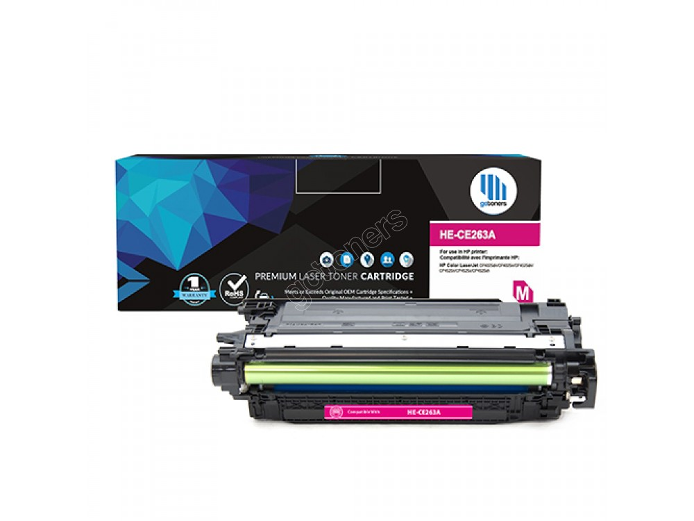 Gotoners™ HP Compatible CE263A (648A) Magenta Remanufactured Toner , Standard Yield