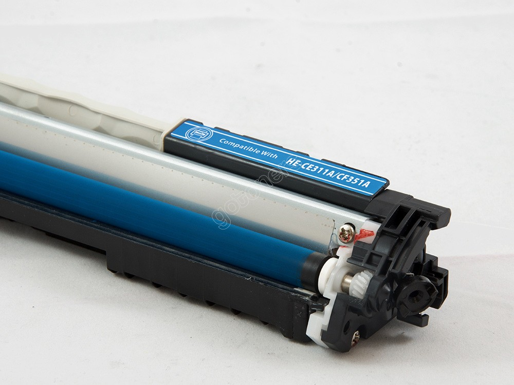Gotoners™ HP New Compatible CE311A (126A) Cyan Toner, Standard Yield