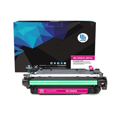 Gotoners™ HP Compatible CE403A (507A) Magenta Remanufactured Toner , Standard Yield