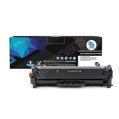 Gotoners™ HP New Compatible CE410X (305X) Black Toner, High Yield