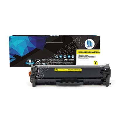 Gotoners™ HP New Compatible CE412A (305A) Yellow Toner, Standard Yield