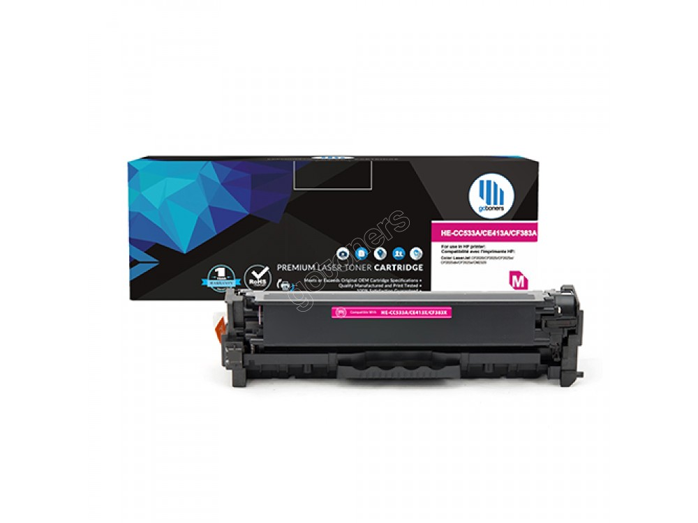 Gotoners™ HP New Compatible CE413A (305A) Magenta Toner, Standard Yield