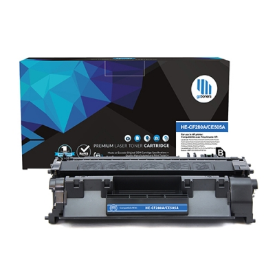 Gotoners™ HP New Compatible CE505A (05A) Black Toner, Standard Yield