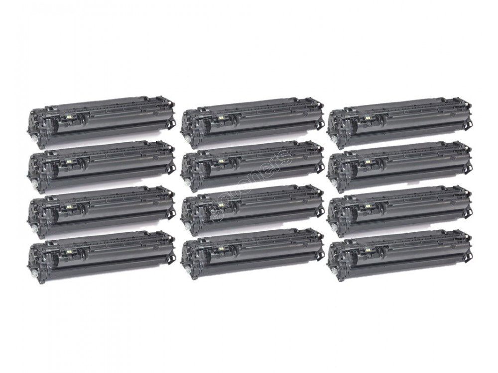 Gotoners™ HP New Compatible CE505A (05A) Black Toner, Standard Yield, 12 pack
