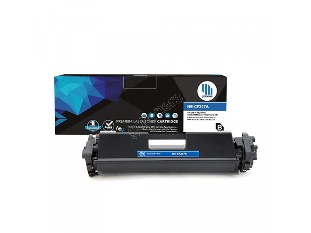 Gotoners™ HP New Compatible CF217A (17A) Black Toner, Standard Yield