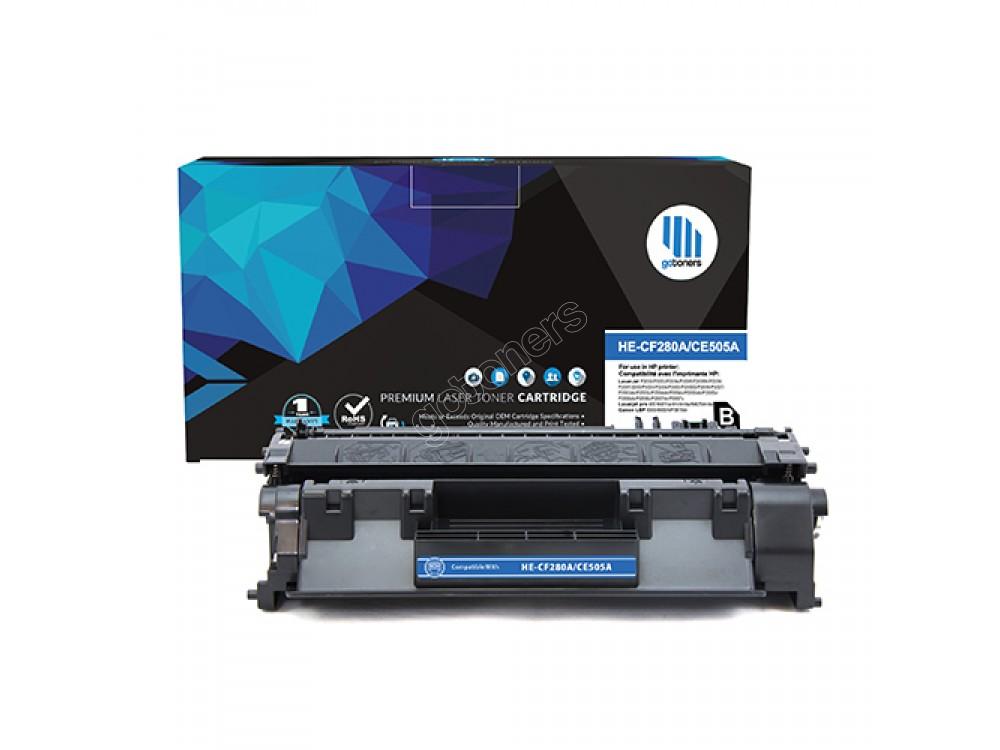 Gotoners™ HP New Compatible CF280A (80A) Black Toner, Standard Yield
