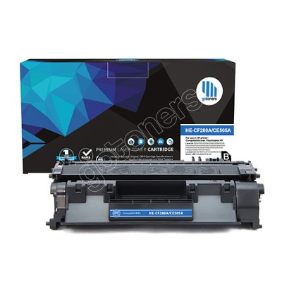 Gotoners™ HP New Compatible CF280A (80A) Black Toner, Standard Yield