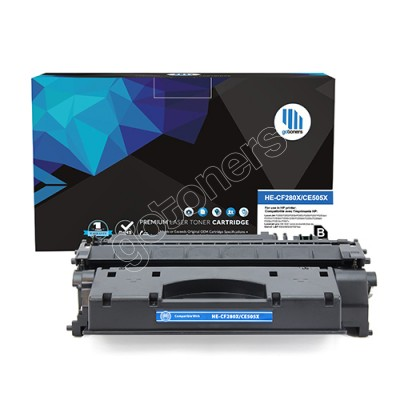 Gotoners™ HP New Compatible CF280X (80X) Black Toner, High Yield