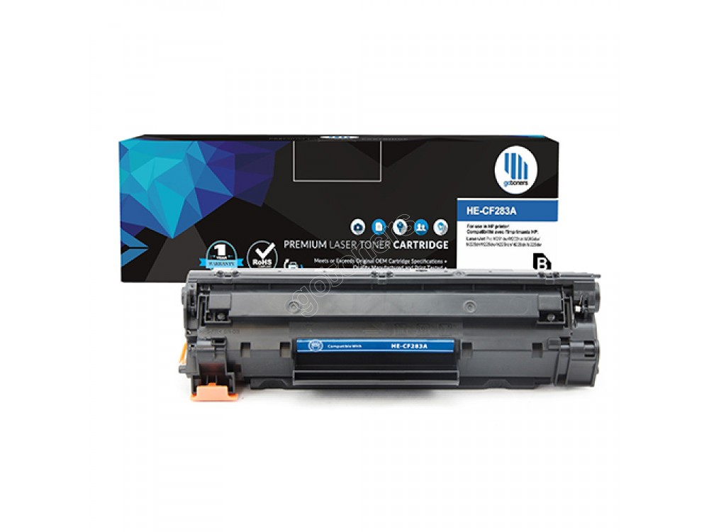 Gotoners™ HP New Compatible CF283A (83A) Black Toner, Standard Yield