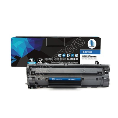 Gotoners™ HP New Compatible CF283X (83X) Black Toner, High Yield