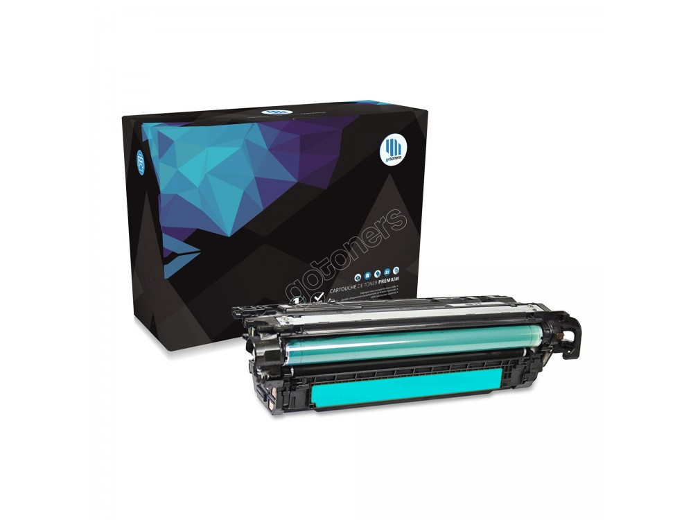 Gotoners™ HP New Compatible CF331A (654A) Cyan Toner, Standard Yield