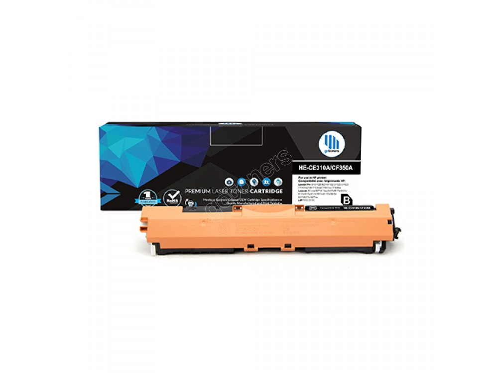 Gotoners™ HP New Compatible CF350A (130A) Black Toner, Standard Yield