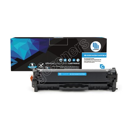 Gotoners™ HP New Compatible CF381A (312A) Cyan Toner, Standard Yield