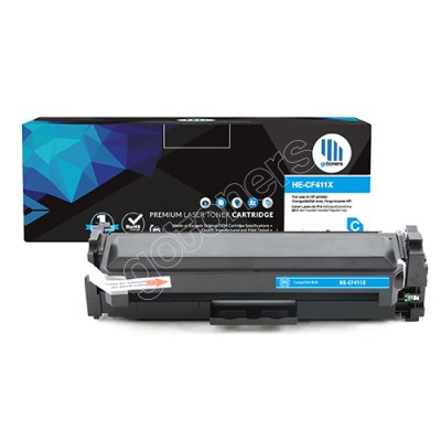 Gotoners™ HP New Compatible CF411X (201X) Cyan Toner, High Yield