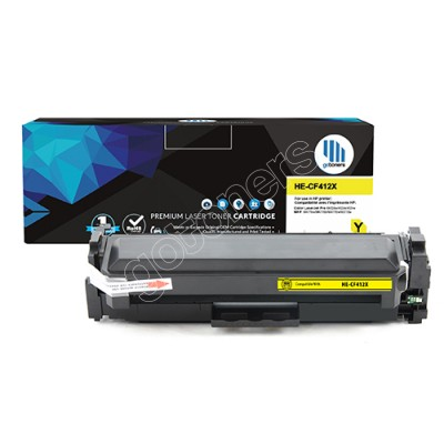 Gotoners™ HP New Compatible CF412X (201X) Yellow Toner, High Yield