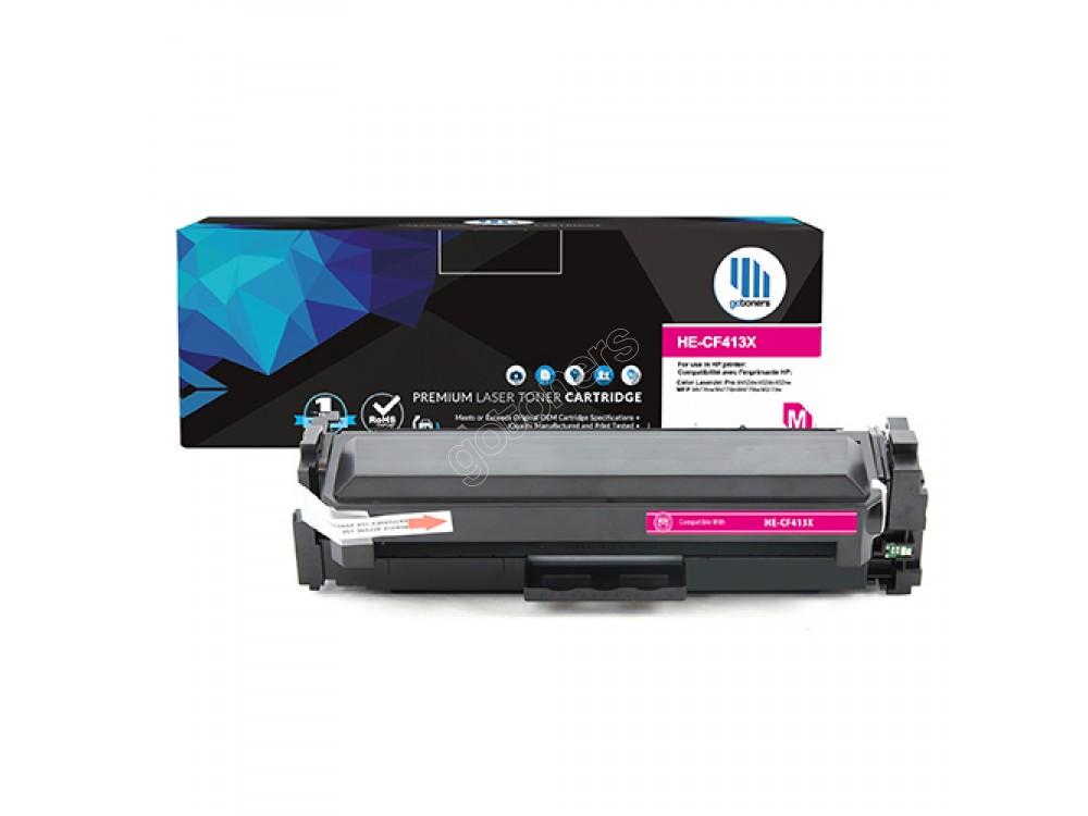 Gotoners™ HP New Compatible CF413X (201X) Magenta Toner, High Yield