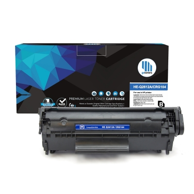 Gotoners™ HP New Compatible Q2612A (12A) Black Toner, Standard Yield