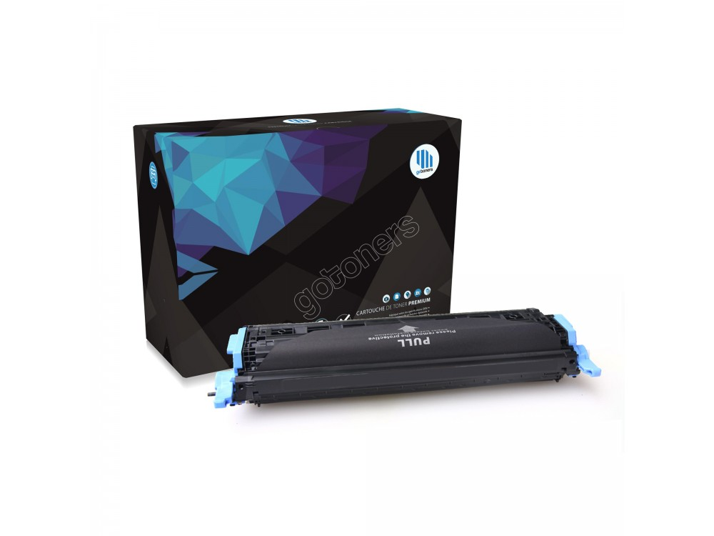 Gotoners™ HP Compatible Q6001A (124A) Cyan Remanufactured Toner , Standard Yield