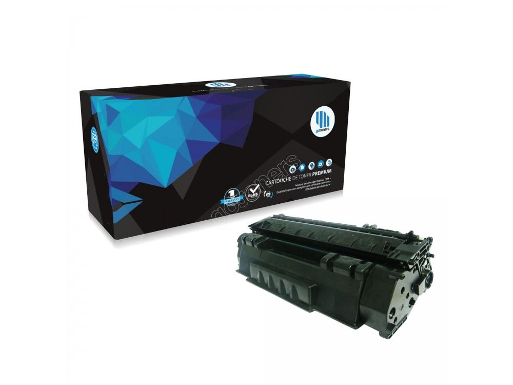 Gotoners™ HP New Compatible Q7553A (53A) Black Toner, Standard Yield
