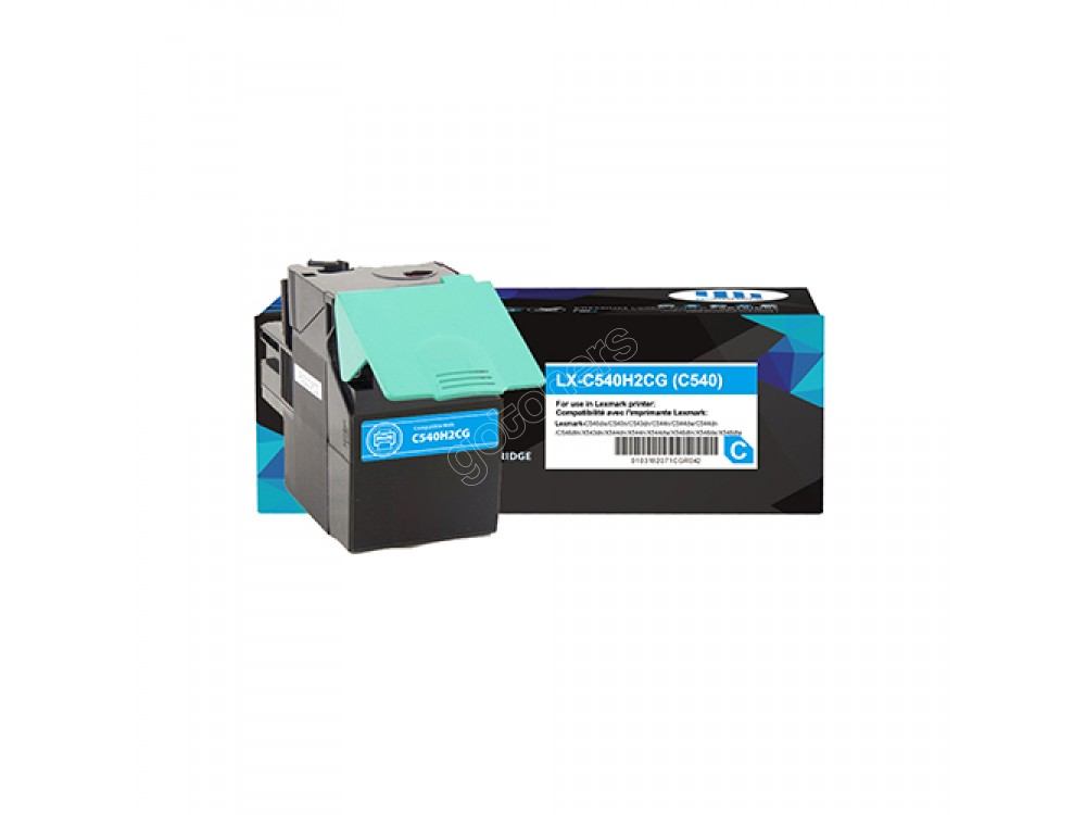 Gotoners™ Lexmark Compatible C540H1CG (C540) Cyan Remanufactured Toner Kit, Standard Yield