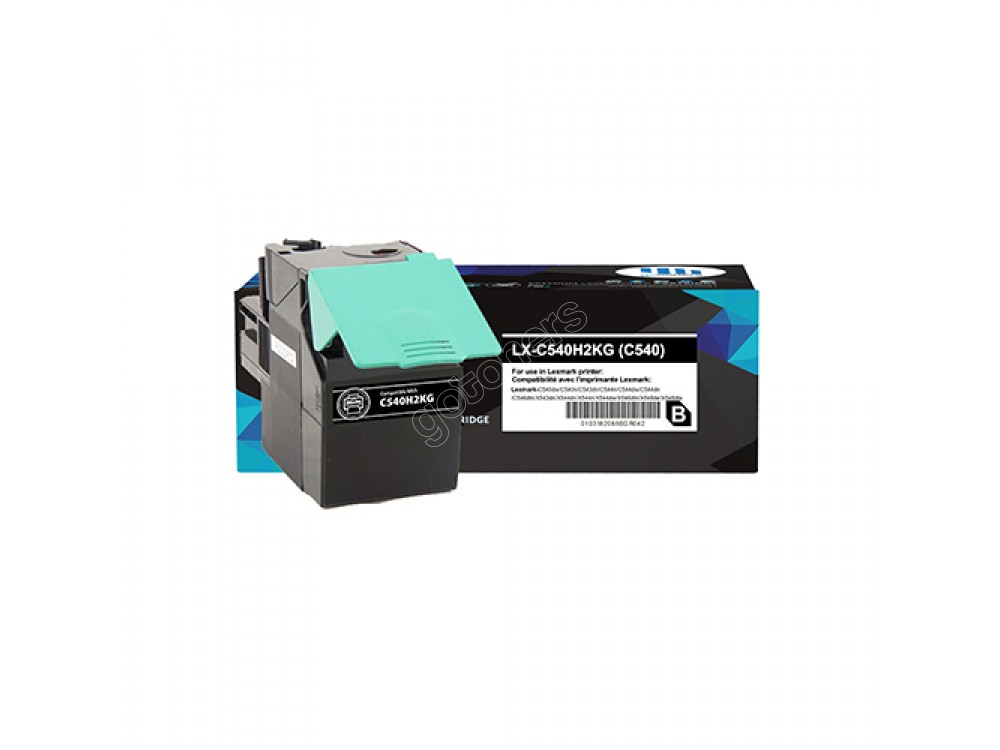 Gotoners™ Lexmark Compatible C540H1KG (C540) Black Remanufactured Toner Kit, Standard Yield