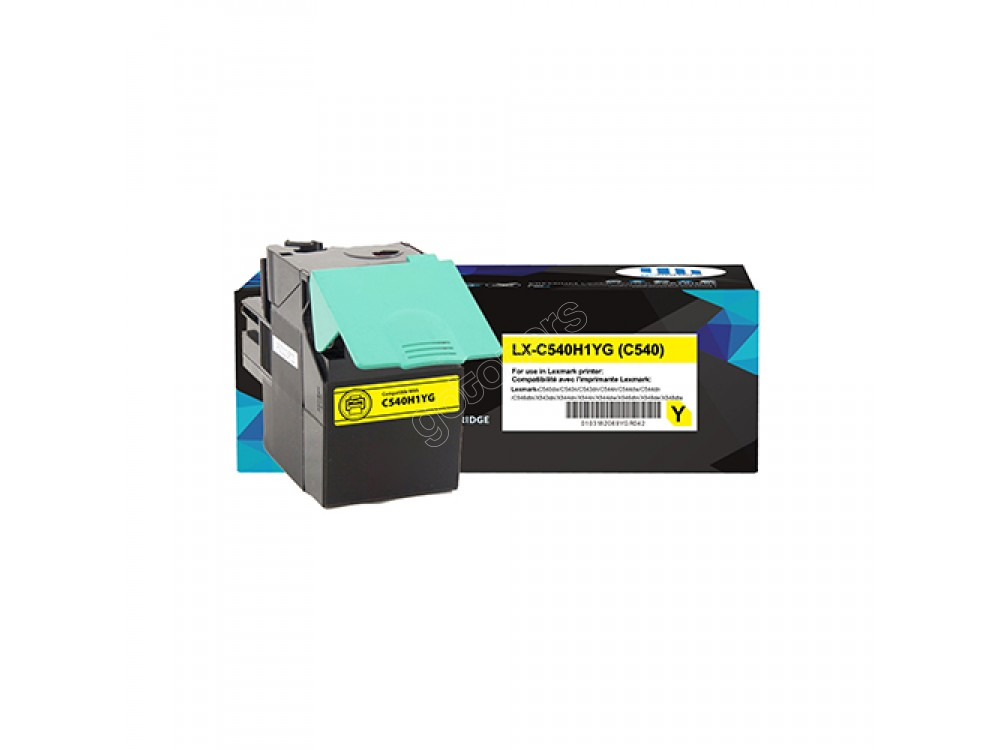 Gotoners™ Lexmark Compatible C540H1YG (C540) Yellow Remanufactured Toner Kit, Standard Yield