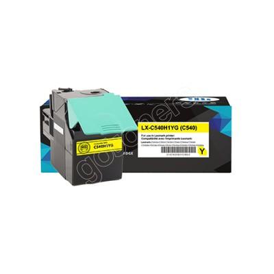 Gotoners™ Lexmark Compatible C540H1YG (C540) Yellow Remanufactured Toner Kit, Standard Yield