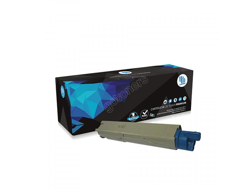 Gotoners™ OKI Compatible 43459303 (C3400/C3530) Cyan Remanufactured Toner Kit, Standard Yield
