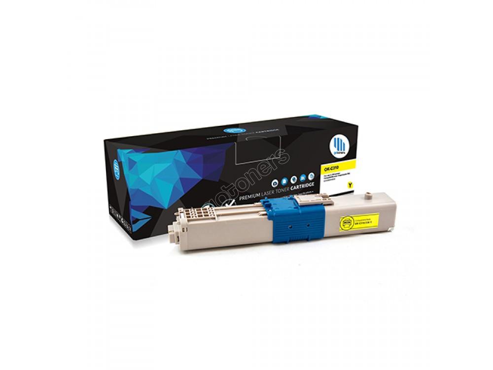 Gotoners™ OKI New Compatible 44469701 (C310/C330/C530) Yellow Toner Kit, Standard Yield