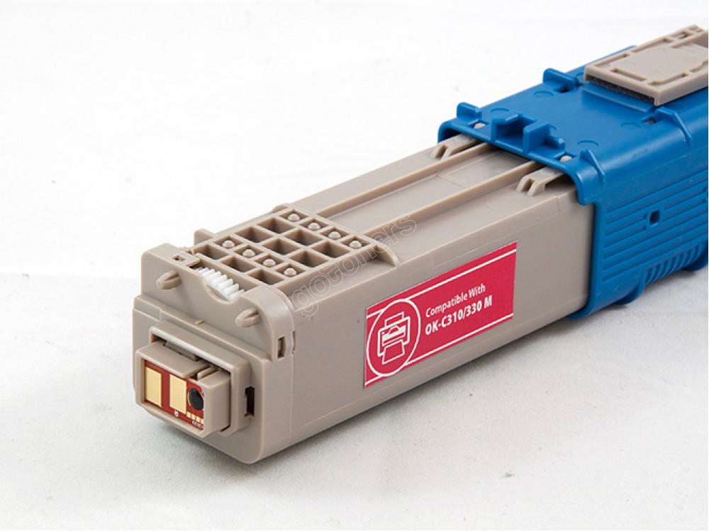 Gotoners™ OKI New Compatible 44469702 (C310/C330/C530) Magenta Toner Kit, Standard Yield