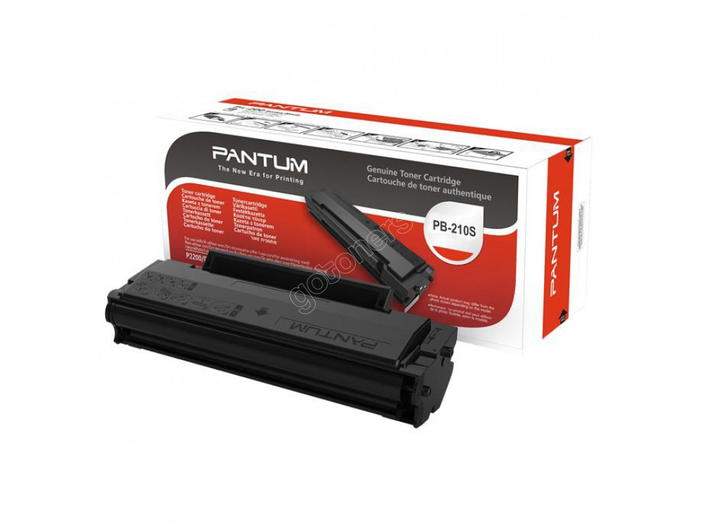 Gotoners™ Pantum PB-210 Original Genuine Black Toner Cartridge, Standard Yield