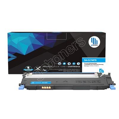 Gotoners™ Samsung New Compatible CLT-C407S Cyan Toner, Standard Yield