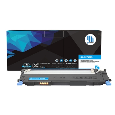 Gotoners™ Samsung New Compatible CLT-C409S Cyan Toner, Standard Yield