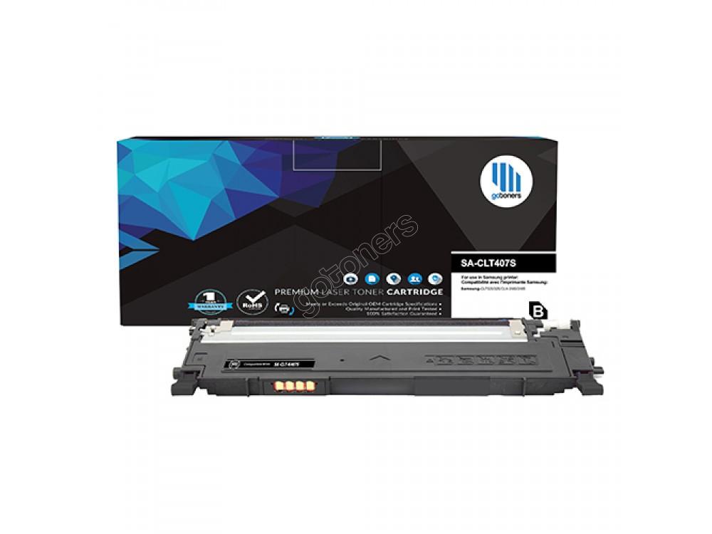 Gotoners™ Samsung New Compatible CLT-K407S Black Toner, Standard Yield