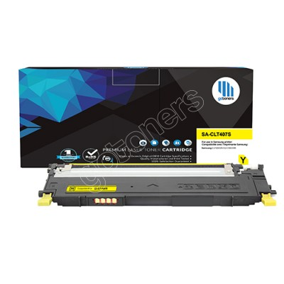 Gotoners™ Samsung New Compatible CLT-Y407S Yellow Toner, Standard Yield