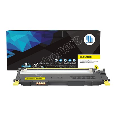 Gotoners™ Samsung New Compatible CLT-Y409S Yellow Toner, Standard Yield