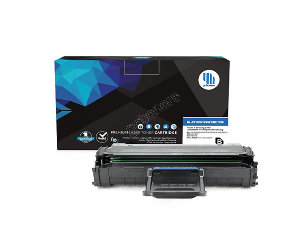 Gotoners™ Samsung New Compatible ML-2010D3 Black Toner, Standard Yield