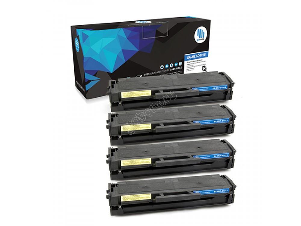 Gotoners™ Samsung New Compatible MLT-D101S Black Toner, Standard Yield, 4 pack
