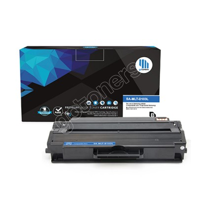 Gotoners™ Samsung New Compatible MLT-D103L Black Toner, High Yield